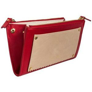 India Hicks - Takeout Wallet - Double Decker Red